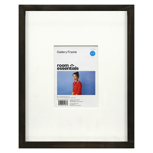 "Gallery Frame Gray 11""x 14"" (Holds 5"" x 7"" Photo) - Room Essentials™ - image 1 of 1"