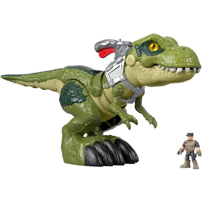 Fisher-Price Imaginext Jurassic World Mega Mouth T-Rex - image 1 of 14