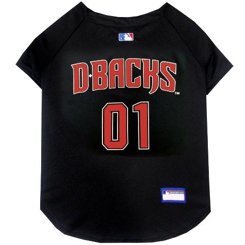 Arizona Diamondbacks Pets First Pet Baseball Jersey - Black XS   Target 1f7bcf6b5