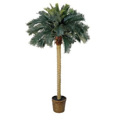 "Nearly Natural Sago Palm Silk Tree (6"")"
