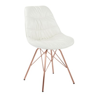 Langdon Chair In Faux Leather - Ave Six