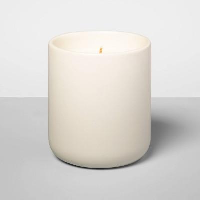 7oz Boxed Matte Jar Candle Teakwood & Ginger - Opalhouse™