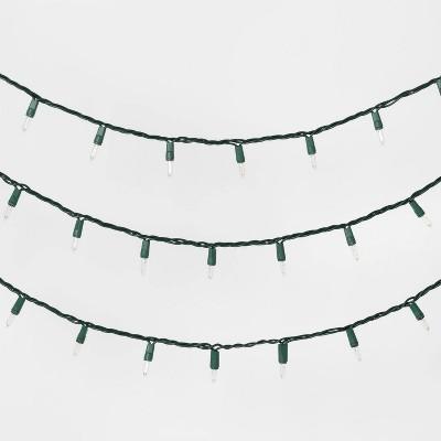 50ct Christmas Incandescent Mini String Lights - Wondershop™
