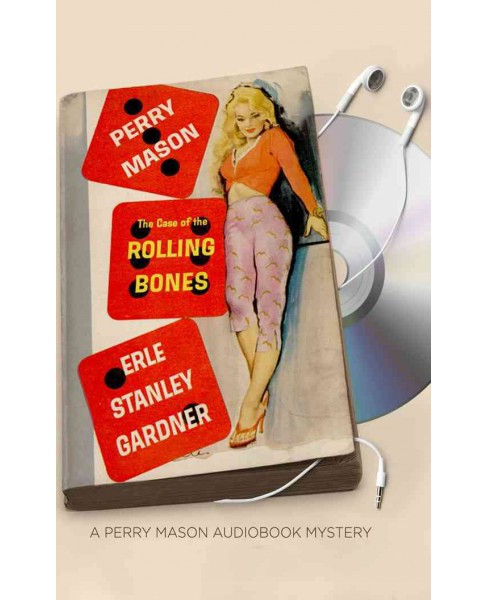 Case of the Rolling Bones : Library Edition (Unabridged) (CD/Spoken Word) (Erle Stanley Gardner) - image 1 of 1