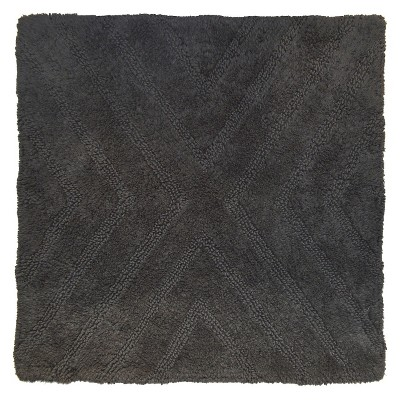 Square Bath Rug Railroad Gray - Project 62™ + Nate Berkus™