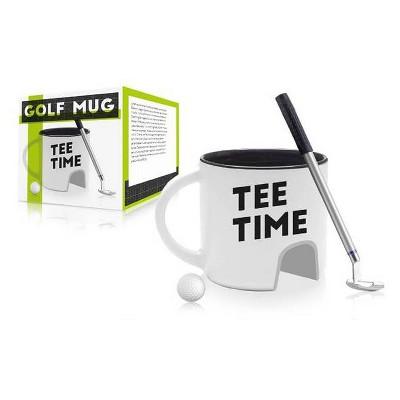 Tee Time Father's Day Golf Mug