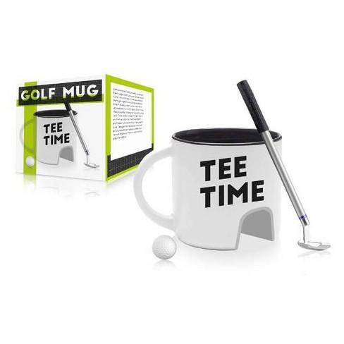 men golf coffee cup