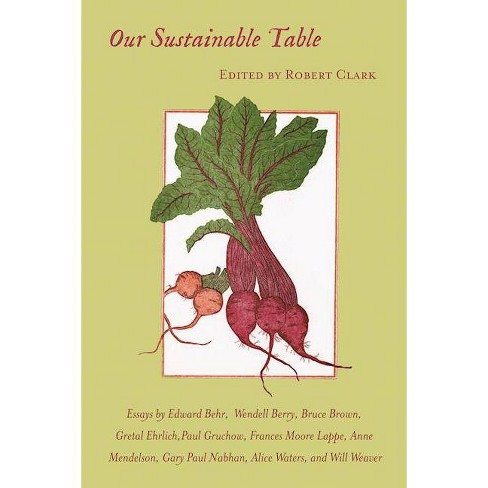 Our Sustainable Table - (Paperback) - image 1 of 1