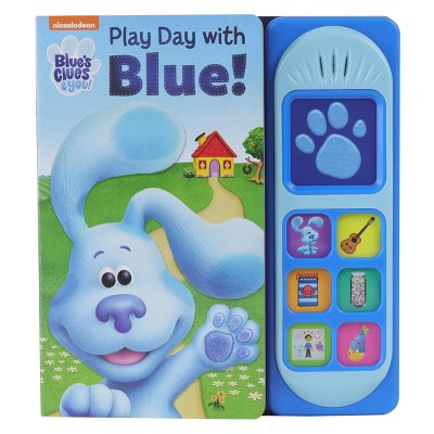 Blue's Clues & You Play Day with Blue Little Sound (Board Book)
