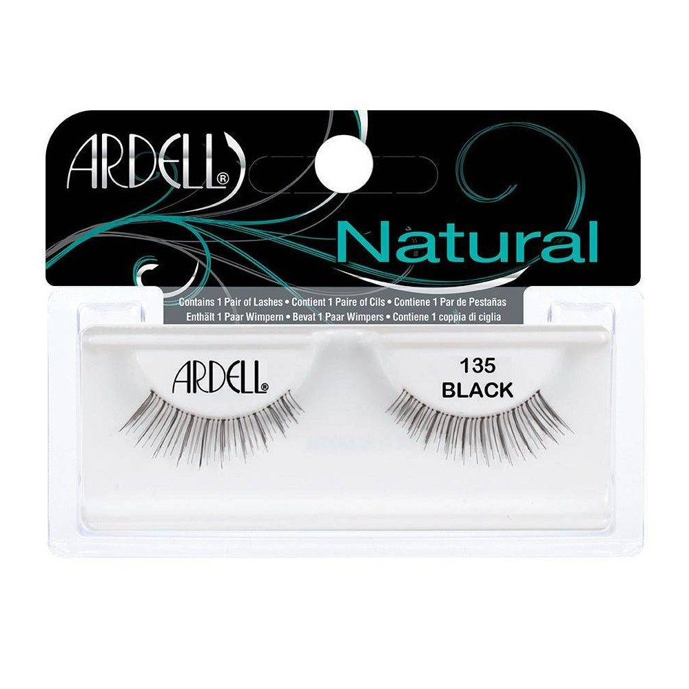 Image of Ardell Eyelash 135 Black - 1ct