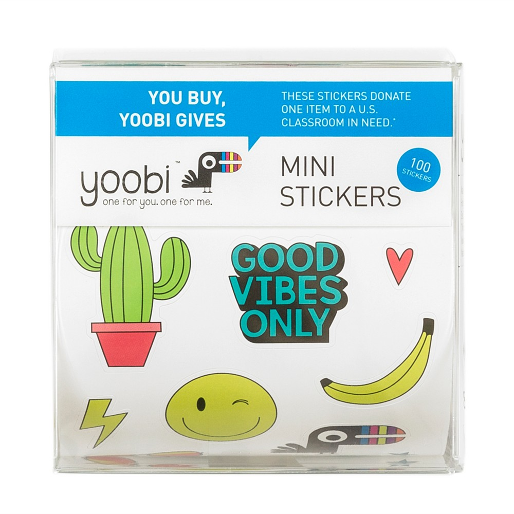 100ct Mini Stickers - Yoobi™
