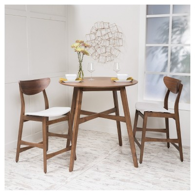 Incroyable 3pc Gavin Counter Height Dining Set   Christopher Knight Home : Target