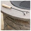"""Channing 36.25 """" Wood Burning Patio Fire Pit - Round - Natural Stone - Christopher Knight Home - image 4 of 4"""