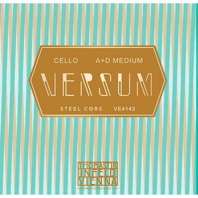 Thomastik Versum Cello A and D String Combo Pack 4/4 Size, Medium