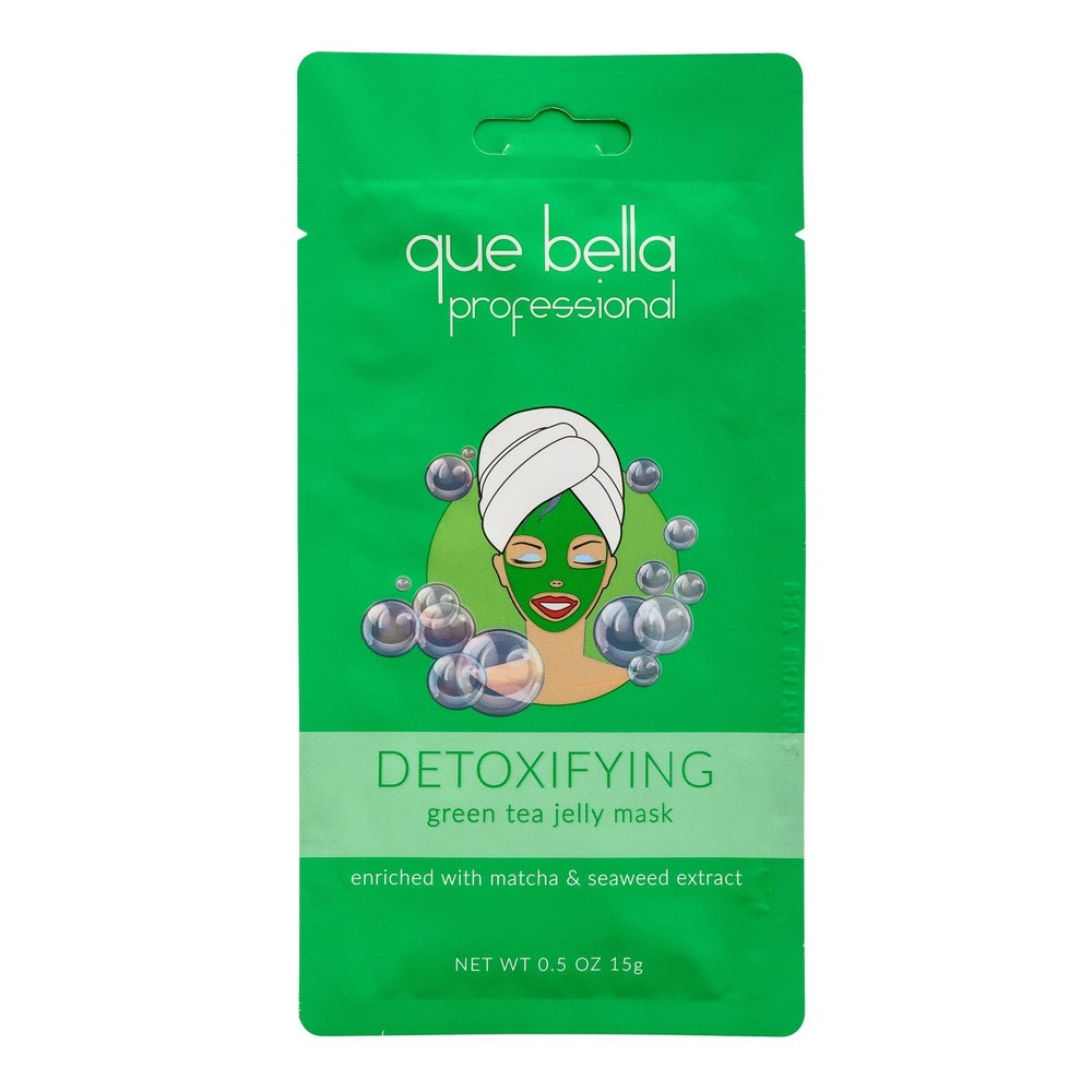 Image of Que Bella Detoxifying Matcha Jelly Face Mask - 0.5oz