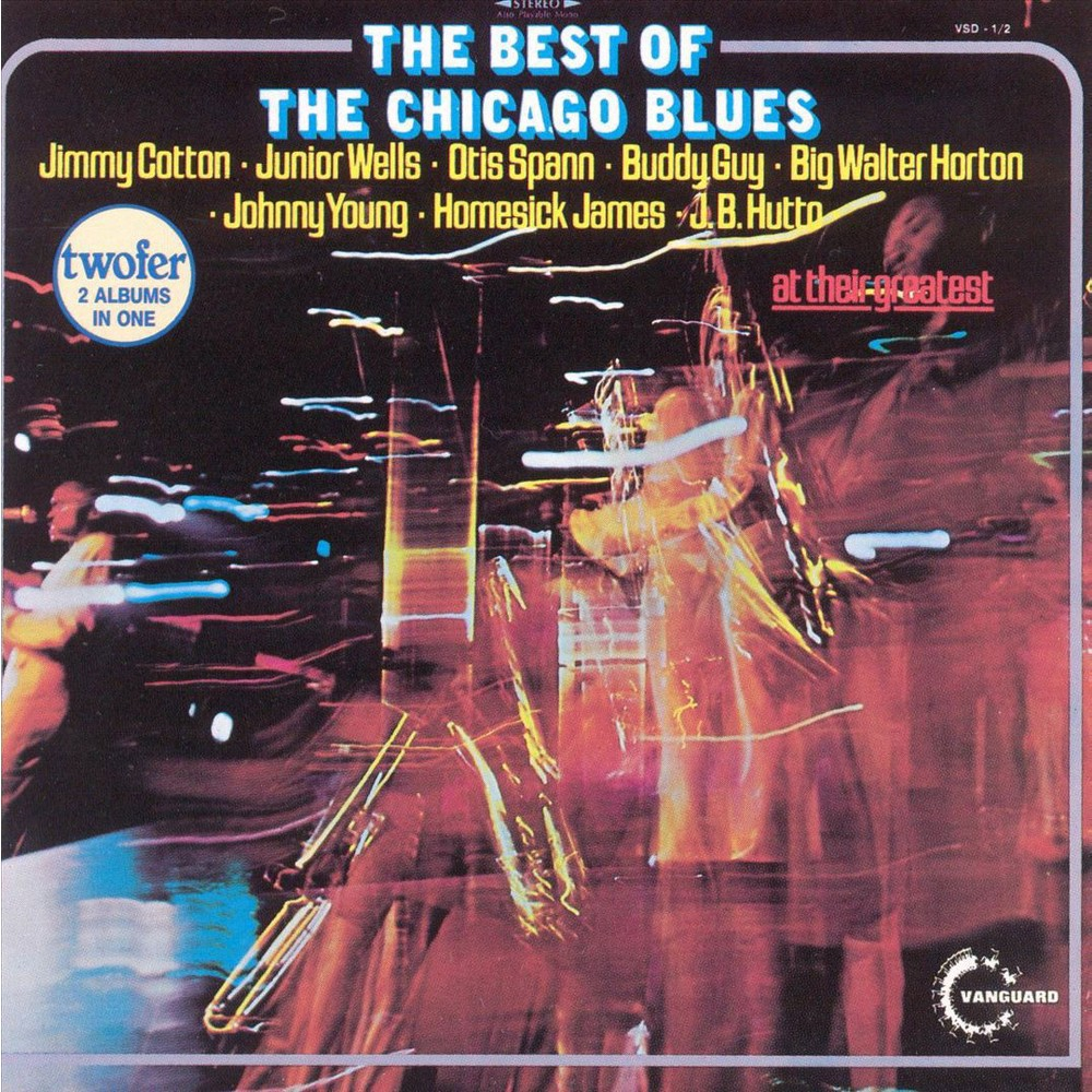 Various - Best Of Chicago Blues (CD)