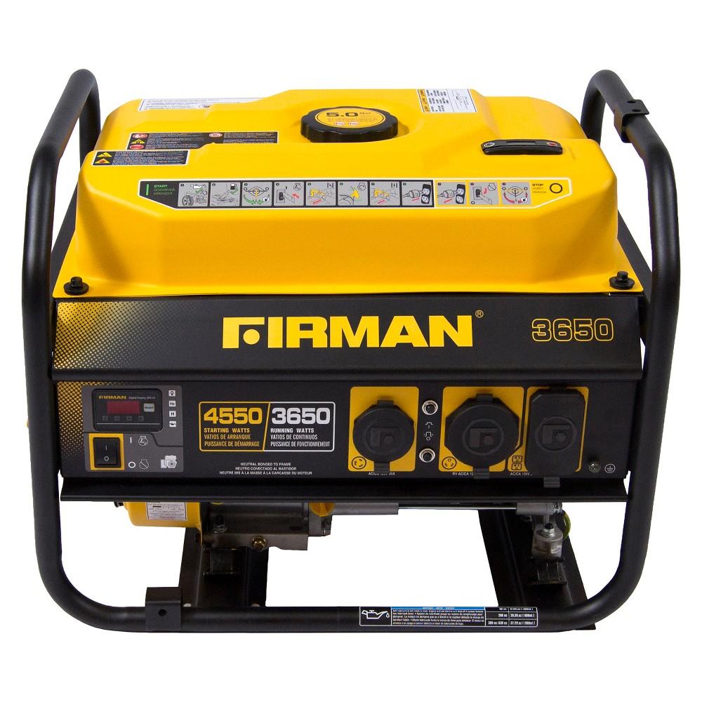 3650/4550 Watt Gas Powered Portable Generator - Firman Power