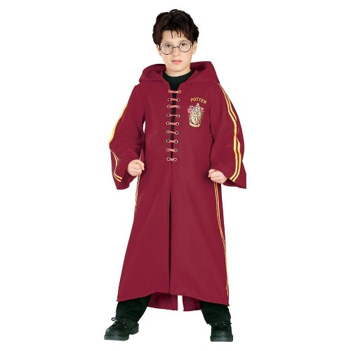 Halloween Harry Potter Kids' Quidditch Robe Deluxe Costume- Large, Adult Unisex