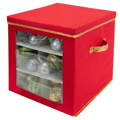 Storage Box with Window & Divider - Simplify