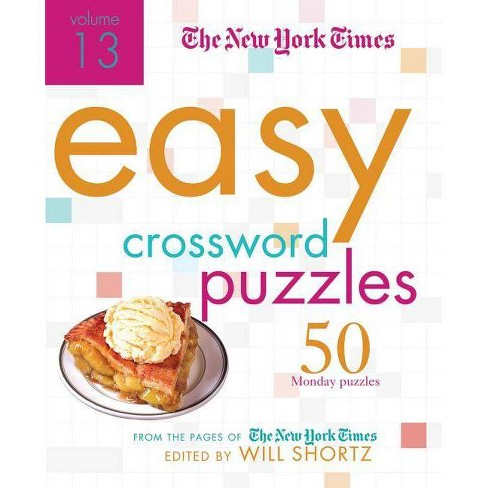 The New York Times Easy Crossword Puzzles Volume 13 - (Spiral_bound) - image 1 of 1