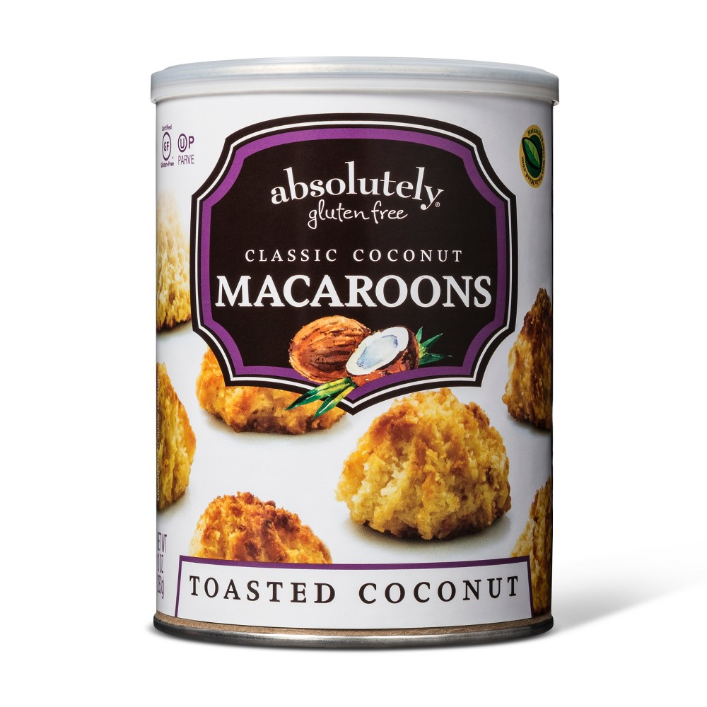 Image of Absolutely Gluten Free Coconut Macaroon Cookies - 10oz
