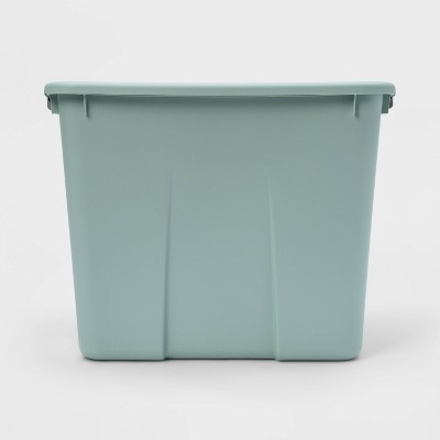 20gal Latching Tote Mint - Room Essentials™