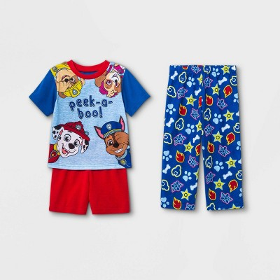 Toddler Boys' 3pc PAW Patrol Pajama Set - Blue