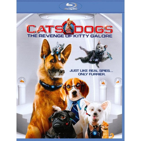 Cats Dogs The Revenge Of Kitty Galore 2 Discs Blu Ray Dvd Target