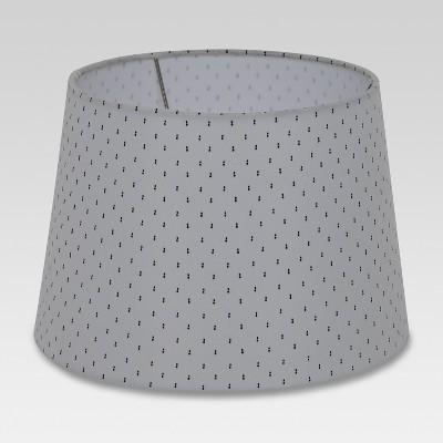Printed Drum Small Lamp Shade White - Threshold™