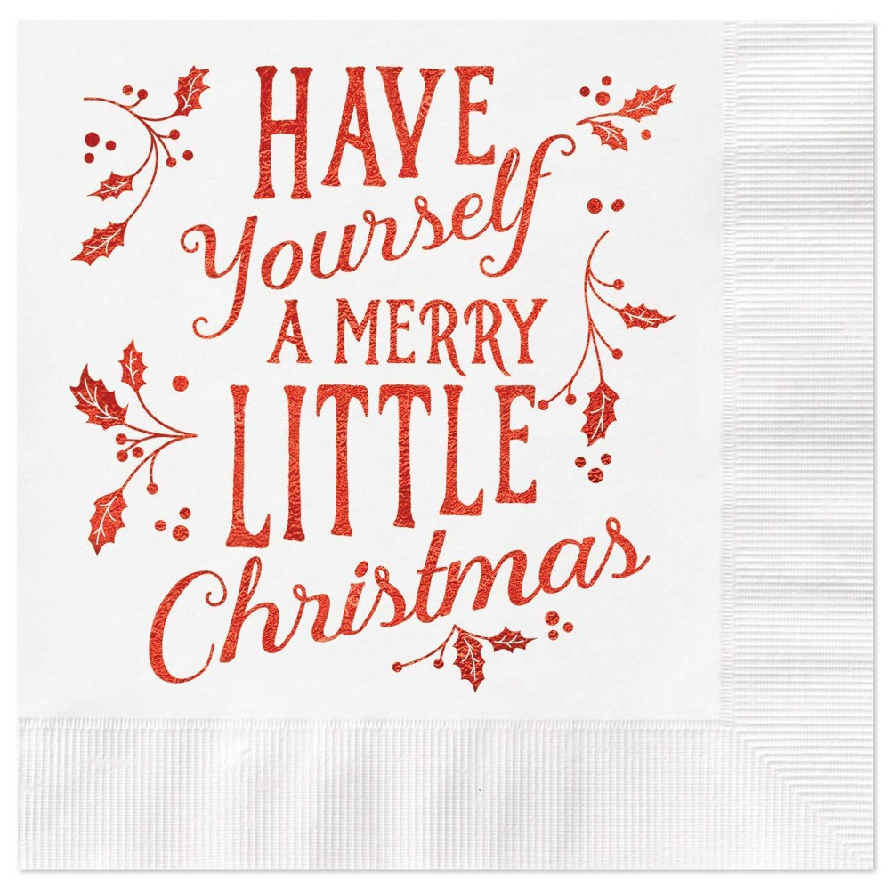 Image of 25ct Merry Christmas Greeting Cards