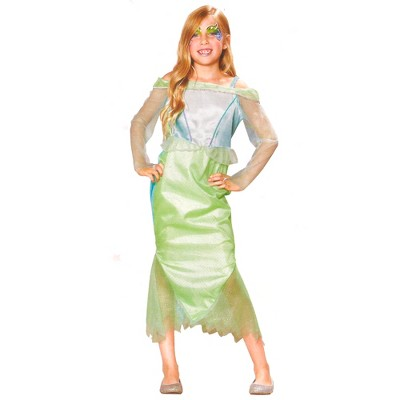 Northlight Blue and Green Tulle Mermaid Girl Halloween Children's Costume - 4-6 Years