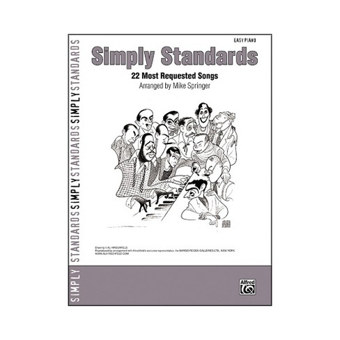 Alfred Simply Standards Easy Piano - image 1 of 1
