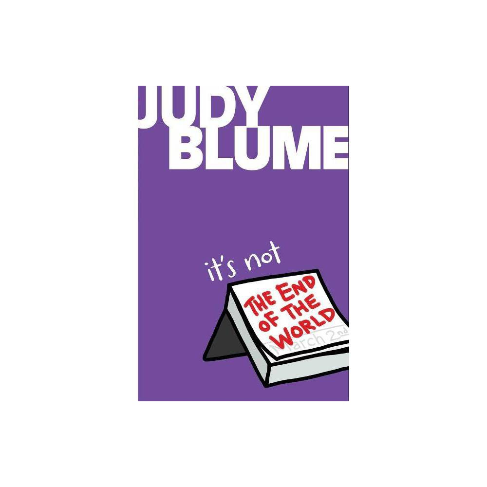 It S Not The End Of The World By Judy Blume Hardcover