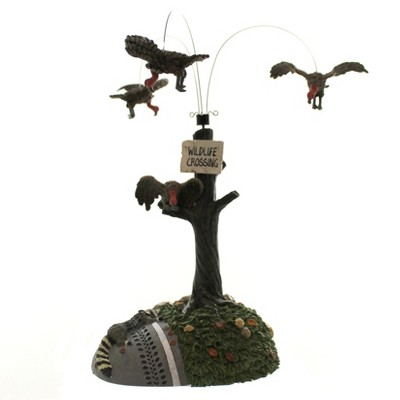 Dept 56 Accessories Buzzard Delight Halloween Animated Scene  -  Decorative Figurines