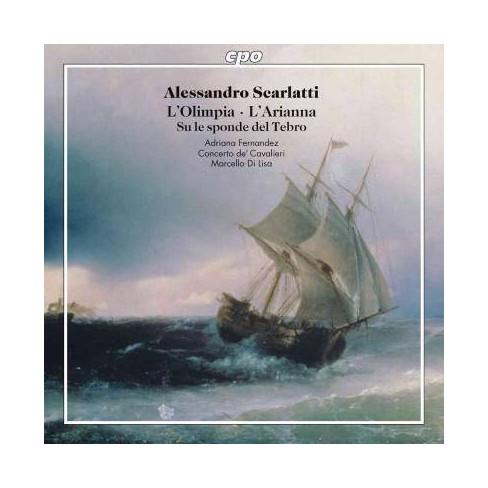 Adriana Fernandez - Scarlatti: Cantatas: L'Olimpia; L'Arianna; Su Le Sponde Del Tebro (CD) - image 1 of 1