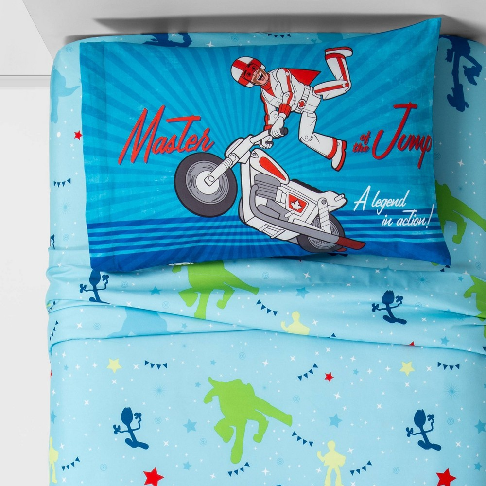 Image of Toy Story 4 Twin Sheet Set Blue