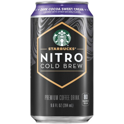 Starbucks Nitro Dark Cocoa Sweet Cream - 9.6 fl oz Can