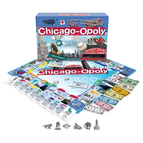 Chicago opoly Game - image 1 of 1