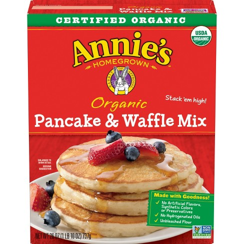 Annie's Organic Pancake & Waffle Mix - 26oz - image 1 of 4