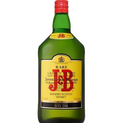 J&B Blended Scotch Whisky - 1.75L Bottle