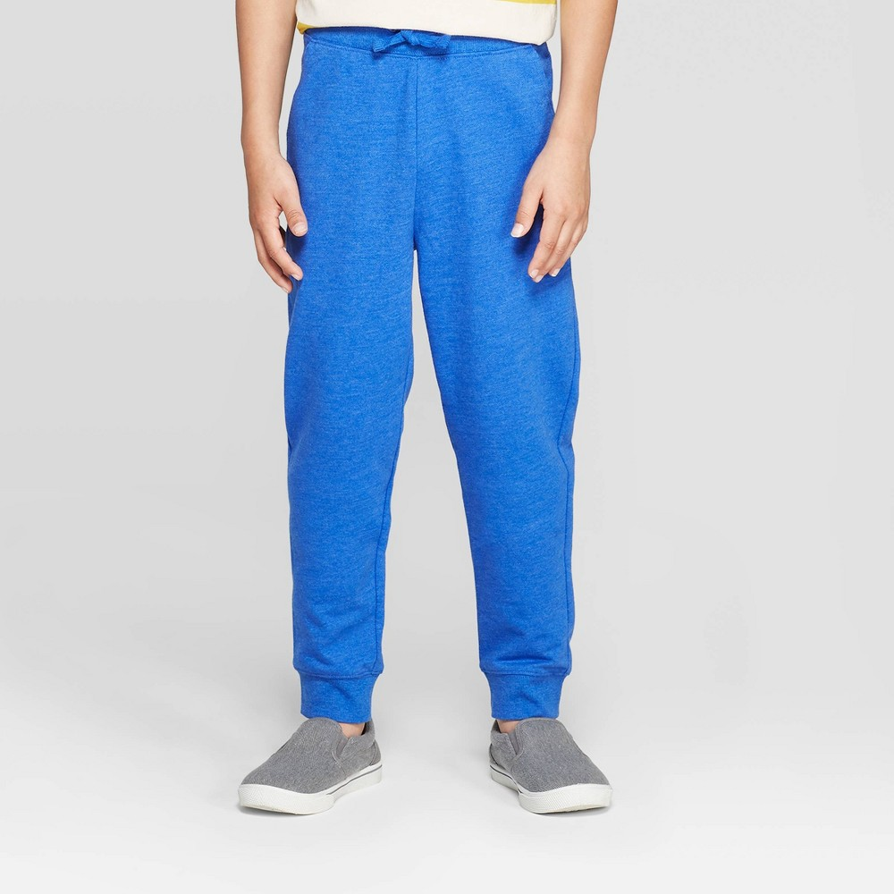 Image of Boys' Knit Jogger Sweatpants - Cat & Jack Blue L, Boy's, Size: Large