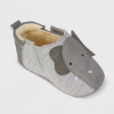 Ro+Me by Robeez Baby Elephant Crib Shoes - 6-12M