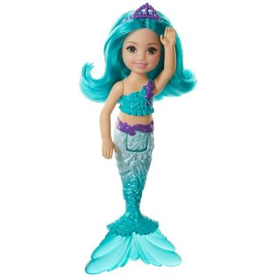 Barbie Dreamtopia Chelsea Mermaid Blue Hair Doll