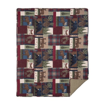 C&F Home Rutherford Cotton Quilted Throw