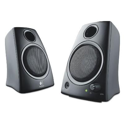Logitech Z130 Compact 2.0 Stereo Speakers 3.5mm Jack Black 980000417