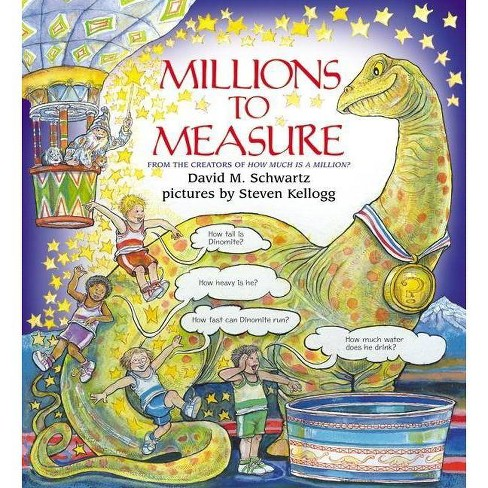 Millions to Measure - by  David M Schwartz (Hardcover) - image 1 of 1