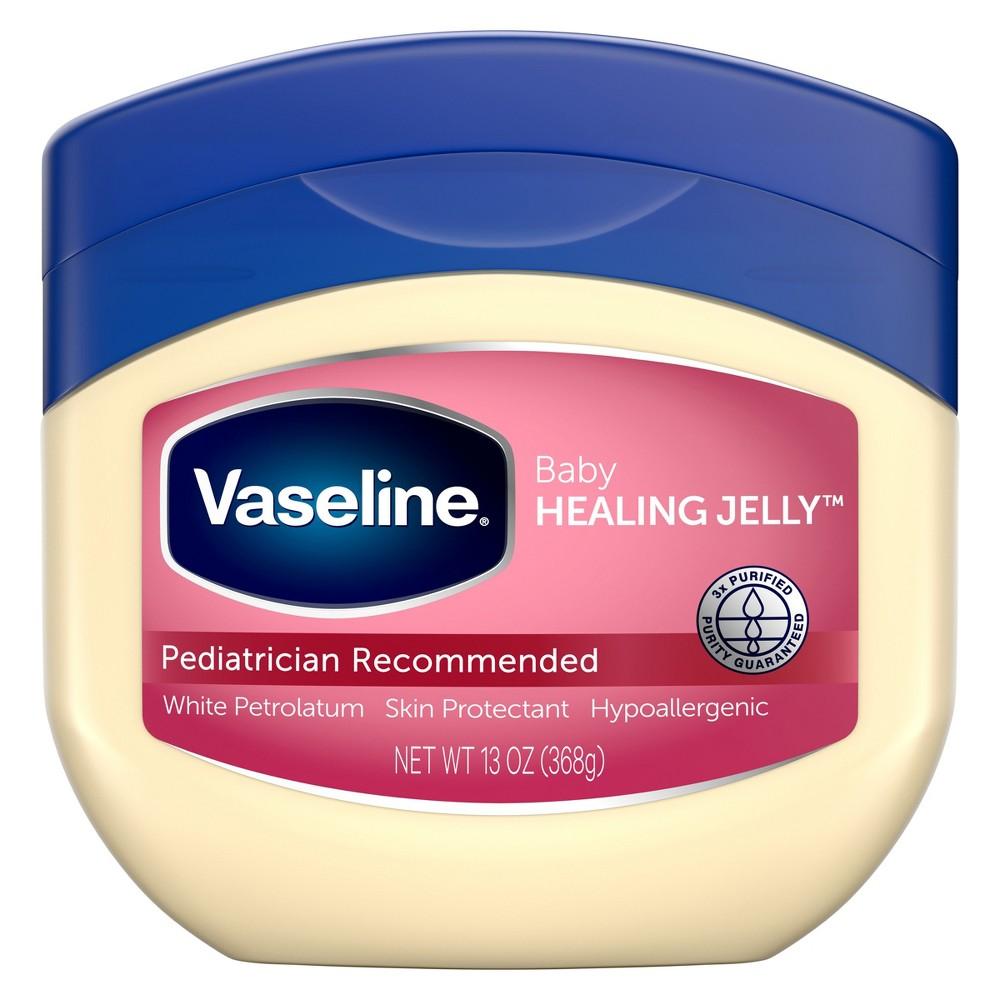 Vaseline Baby Hypoallergenic Petroleum Healing Jelly 38 Diaper Rash Skin Protectant 13oz