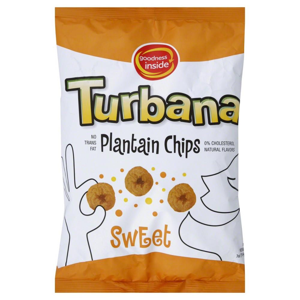 Turbana Sweet Plantain Chips - 7oz/12pk
