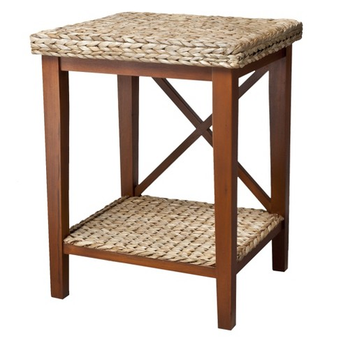 Andres Seagrass Nightstand - Honey - image 1 of 2