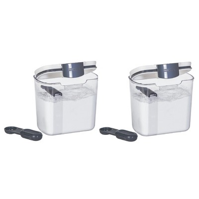 Progressive International Plastic Powdered Sugar ProKeeper Container (2 Pack)
